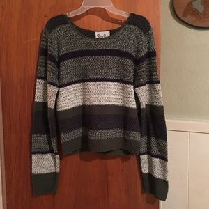 VTG 90s cropped sweater sz M